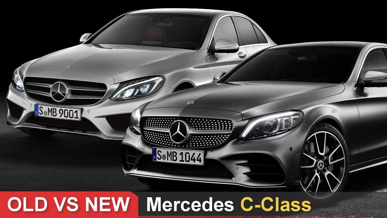 Old Vs New Mercedes C Class See The Differences