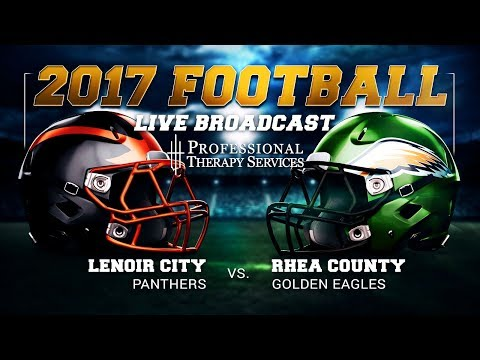 2017 Football - Lenoir City Panthers at Rhea County Golden Eagles