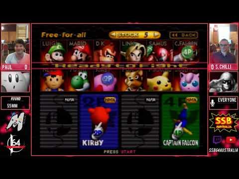 MC3 $5 Money match Paul (Kirby) vs Sweetchilli (Falcon)