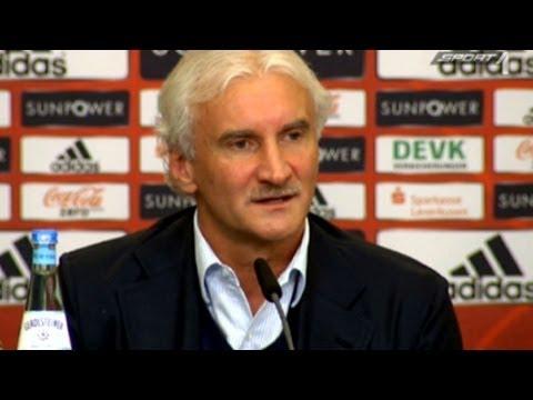 Rudi Völlers Rundumschlag! - Pressekonferenz über Michael Ballack und dessen Berater - SPORT1