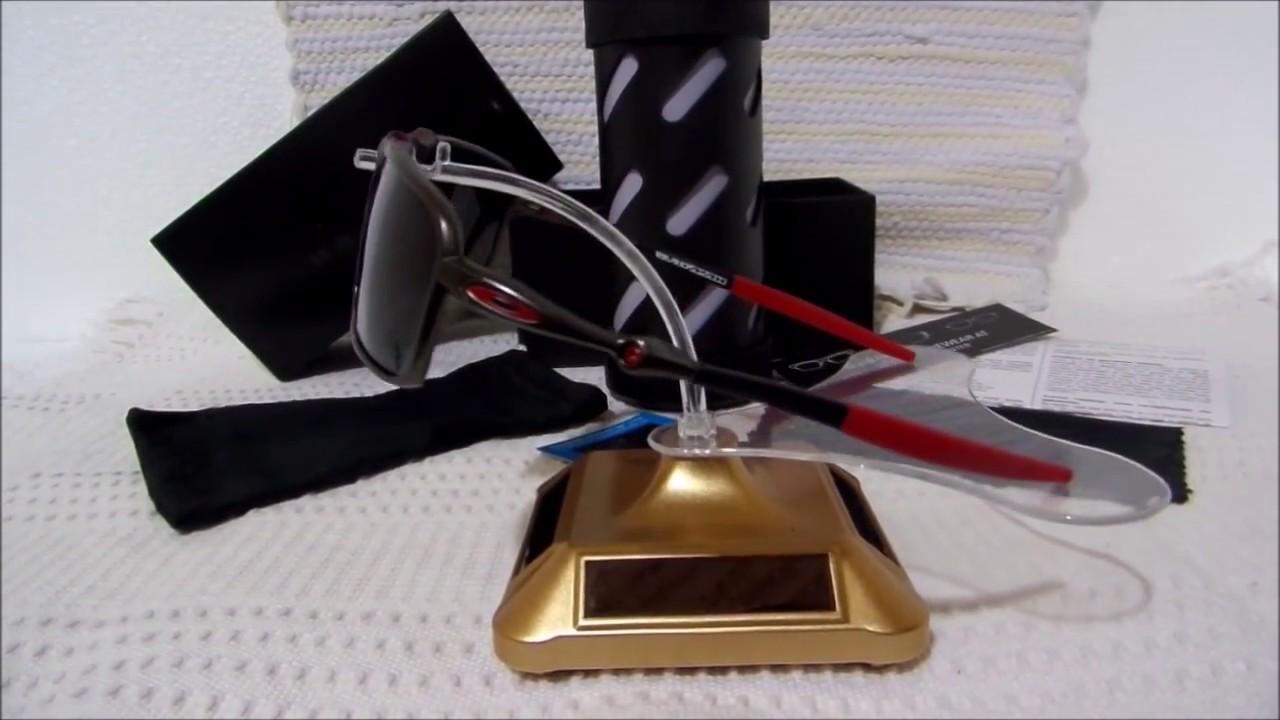 64f312c217 Oakley X-Metal Badman Black Carbon Scuderia Ferrari Polarizado - YouTube