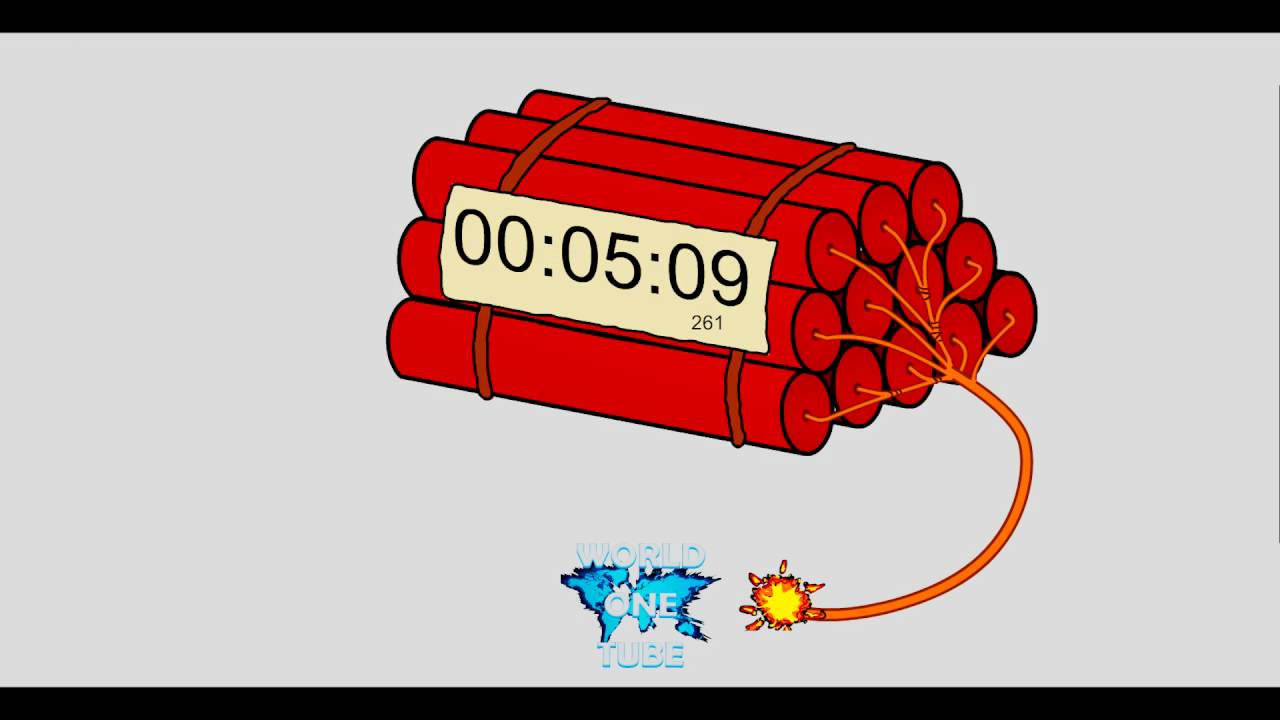 countdown dynamite timer 15 minutes youtube