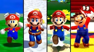 Evolution of Mario in 3D Games (1996 - 2018)
