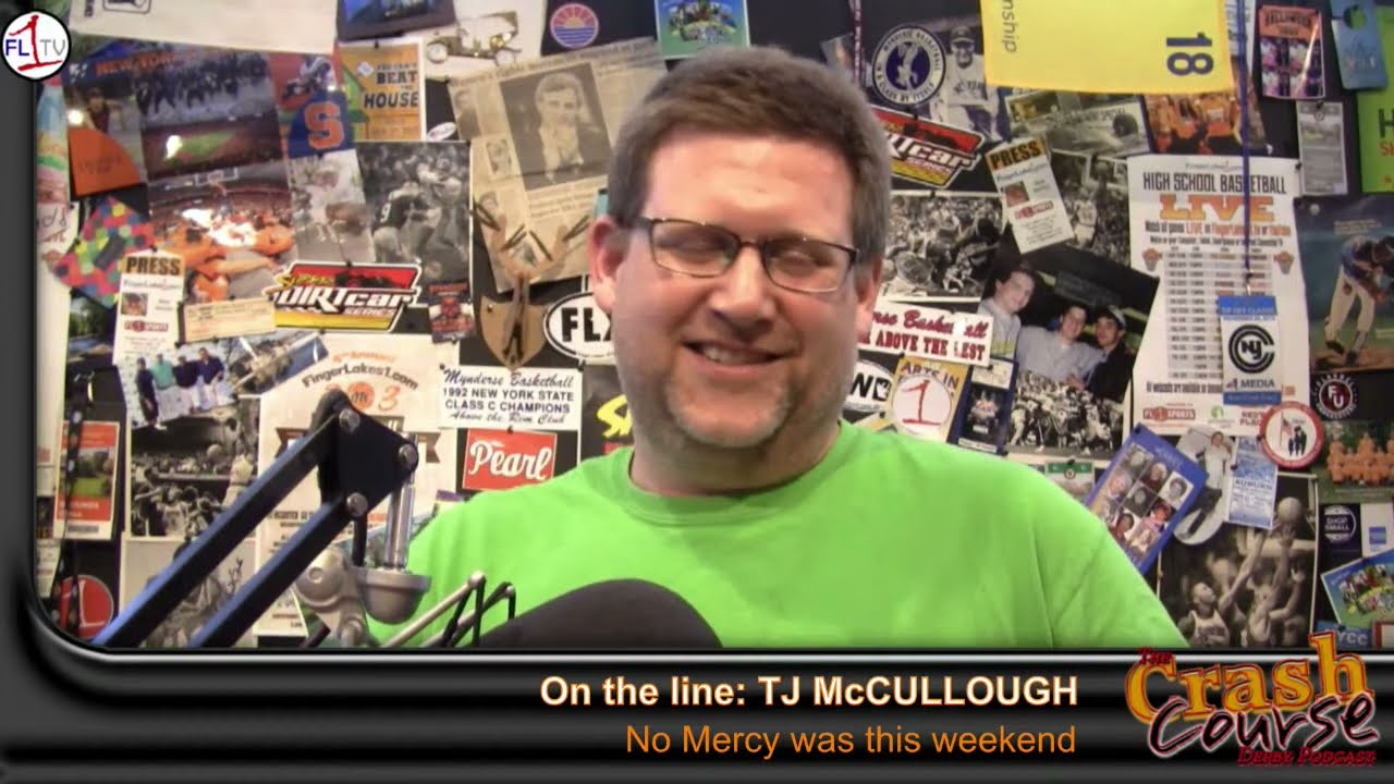 Crash Course #352: No Mercy, TJ McCullough, Cotye Riley, Guy Raymond (PODCAST)