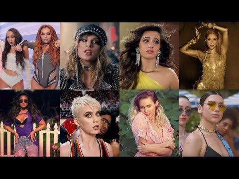 Top 20 Most Viewed Songs by Female Artists Published in 2017