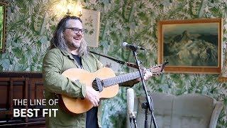 """Jeff Tweedy performs """"Let's Go Rain"""" for The Line of Best Fit"""
