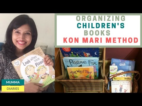 Storage and organization ideas for children's books – How to organize books the Konmari way streaming vf