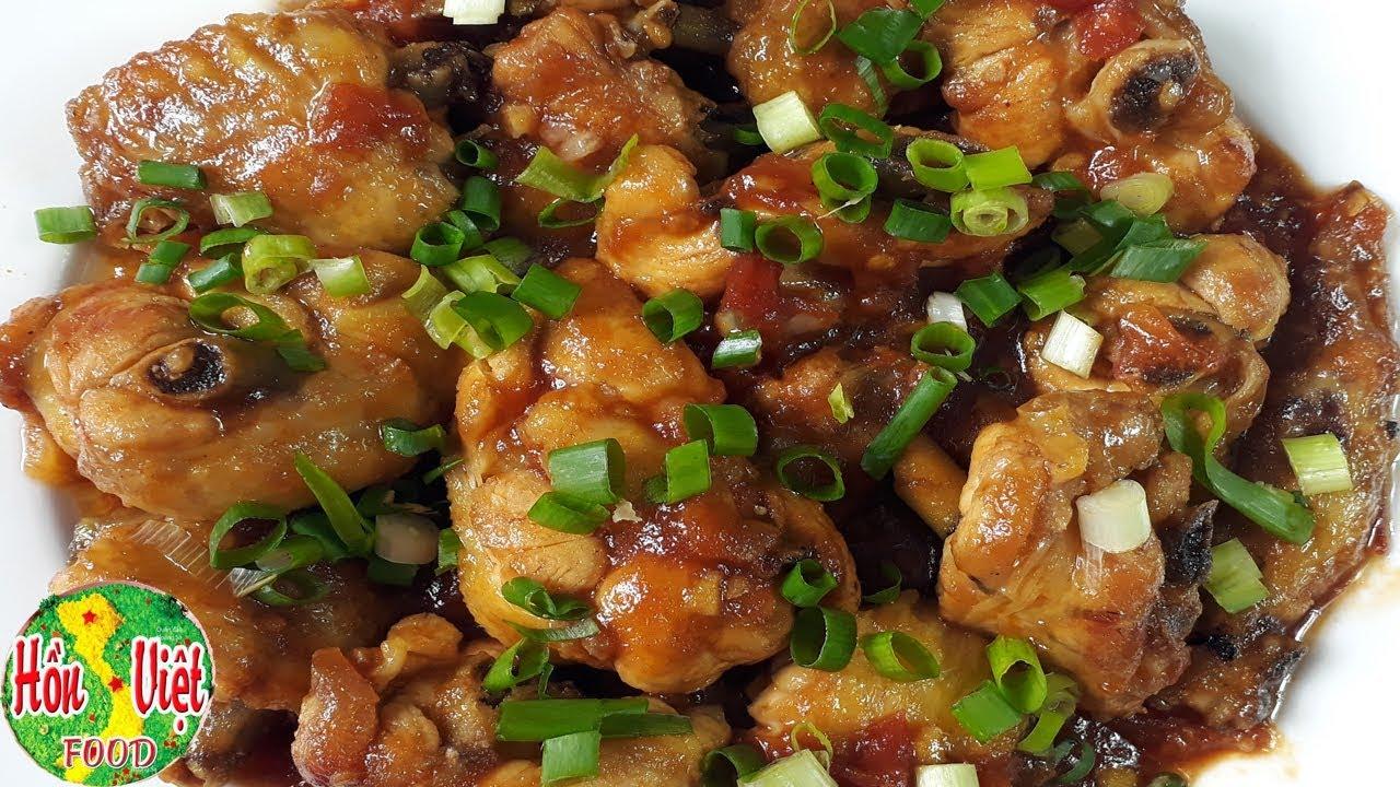 ✅ Siêu Ngon Mà Dễ Làm Món Thịt Gà Sốt Chua Ngọt | Hồn Việt Food