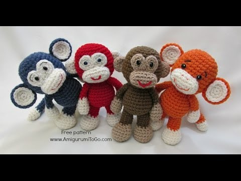 Mike the monkey amigurumi crochet pattern printable. #ad #amigurumis  #amigurumidoll #amigurumilove #amigu… (With images) | Diy crochet projects, Crochet  monkey, Amigurumi pattern | 360x480