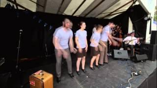 Buffalo Gals Stampede - Priston Festival 2015