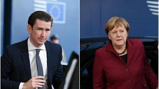 """Merkel und Kurz: """"Brexit-Abkommen wird nicht neu verhandelt"""""""