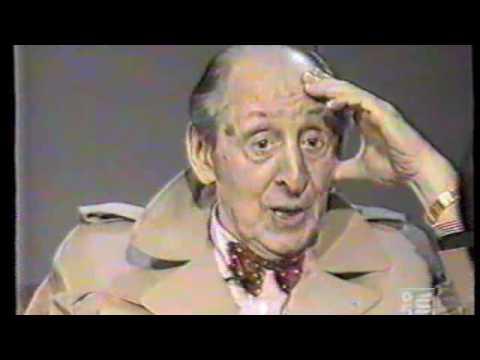 Horowitz speaks and plays for Italian TV -  1985 -  part 1/4