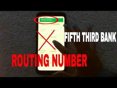 ✅  Fifth Third Bank Routing Number - Where Is It?  🔴