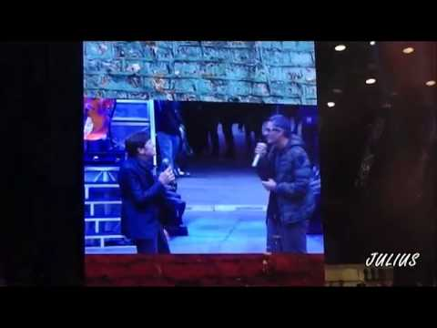GIANNI MORANDI -  FIORELLO BACK STAGE - LIVE IN ARENA