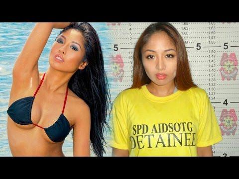 Beauty Queen Karen Bordador arrested in Philippines drug war