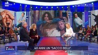"""""""Un sacco bello"""": il film cult di Carlo Verdone compie 40 anni - La vita in diretta 28/01/2020"""