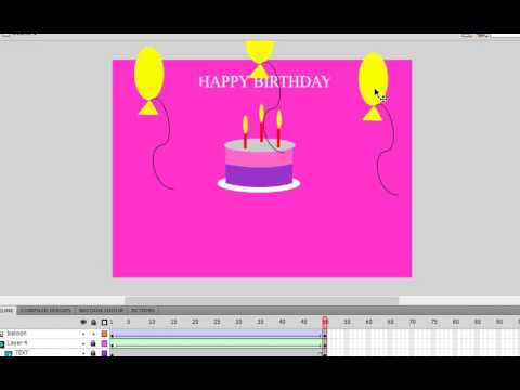 Greeting card in flash – Flash Greeting Cards for Birthday