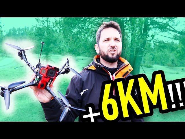 ¡Estrenamos el DRONE LONG RANGE de Xarly! (perdemos vídeo)