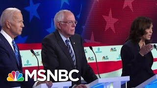 Zapętlaj Who's Rising And Who's Falling After The First Democrats Debate?   Velshi & Ruhle   MSNBC   MSNBC