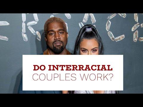 white woman black man interracial dating