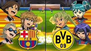 [Full HD 1080P] Inazuma Eleven UCL ~ Barcelona vs Borussia Dortmund ※Pokemon Anchor※
