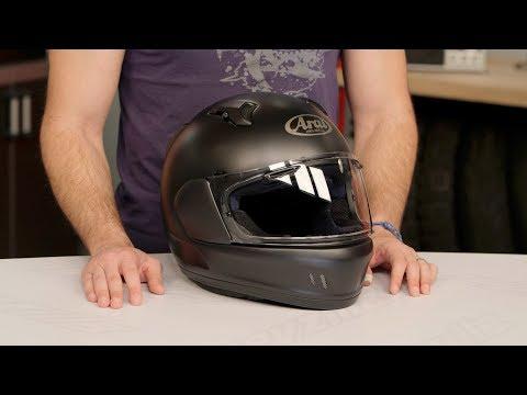 Arai Defiant-X Helmet Review at RevZilla.com