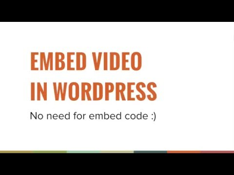 Easy media embeds (oEmbed) » ClickWP