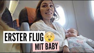 ERSTER FLUG MIT BABY! | 26.07.2018 | ✫ANKAT✫