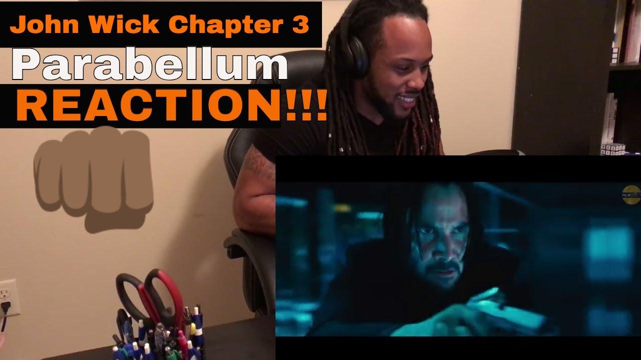 JOHN WICK CHAPTER 3: Parabellum Trailer REACTION - YouTube