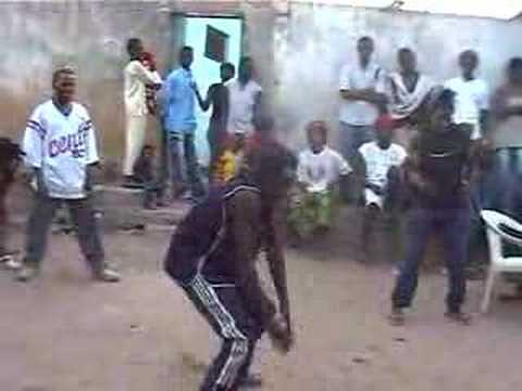 african dance lesson and street party