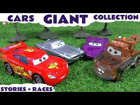 Disney Cars Toys Story Play Doh English Episodes Thomas & Friends Surprise Eggs Hot Wheels Toys