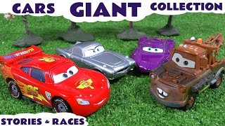 Giant Cars Story Video Play Doh English Episodes Thomas & Friends Surprise Eggs Hot Wheels Toys