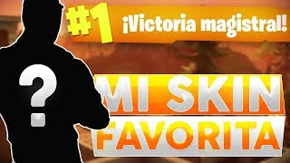 MI SKIN FAVORITA! VICTORIA - FORTNITE Battle Royale