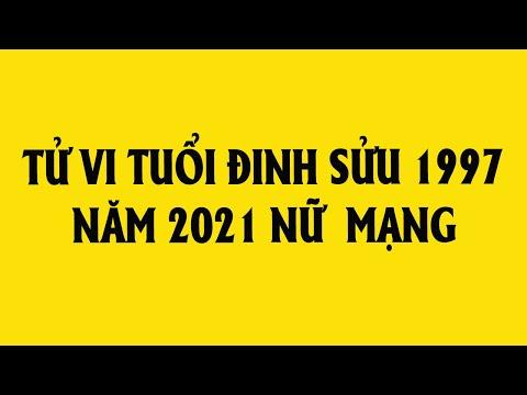 Xem tử vi tuổi Đinh Sửu 1997 năm 2021 nữ mạng chi tiết chính xác