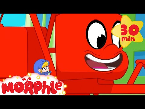 My Red Wrecking Ball - My Magic Pet Morphle | Cartoons For Kids | Morphle TV