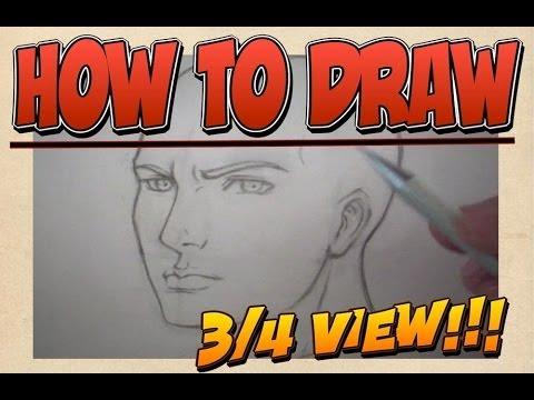 Lezioni di disegno - Viso di Tre Quarti