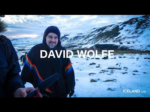 David Wolfe interview in Reyjavik, Iceland