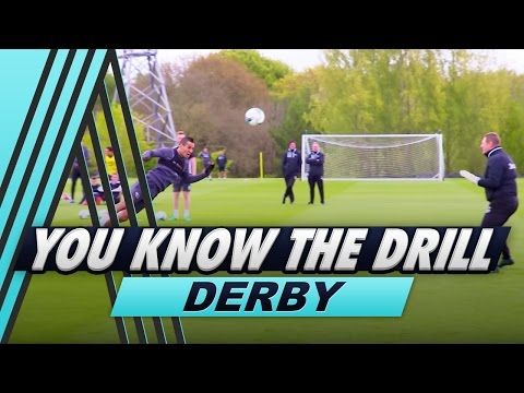 Four Goal Challenge | Jimmy Bullard v Tom Ince | You Know The Drill