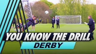 Four Goal Challenge   Jimmy Bullard v Tom Ince   You Know The Drill