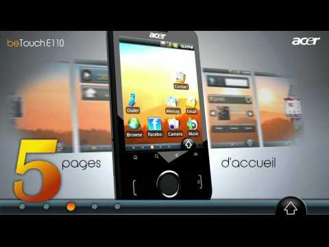 Acer Betouch e110 dispo sur afone mobile.fr