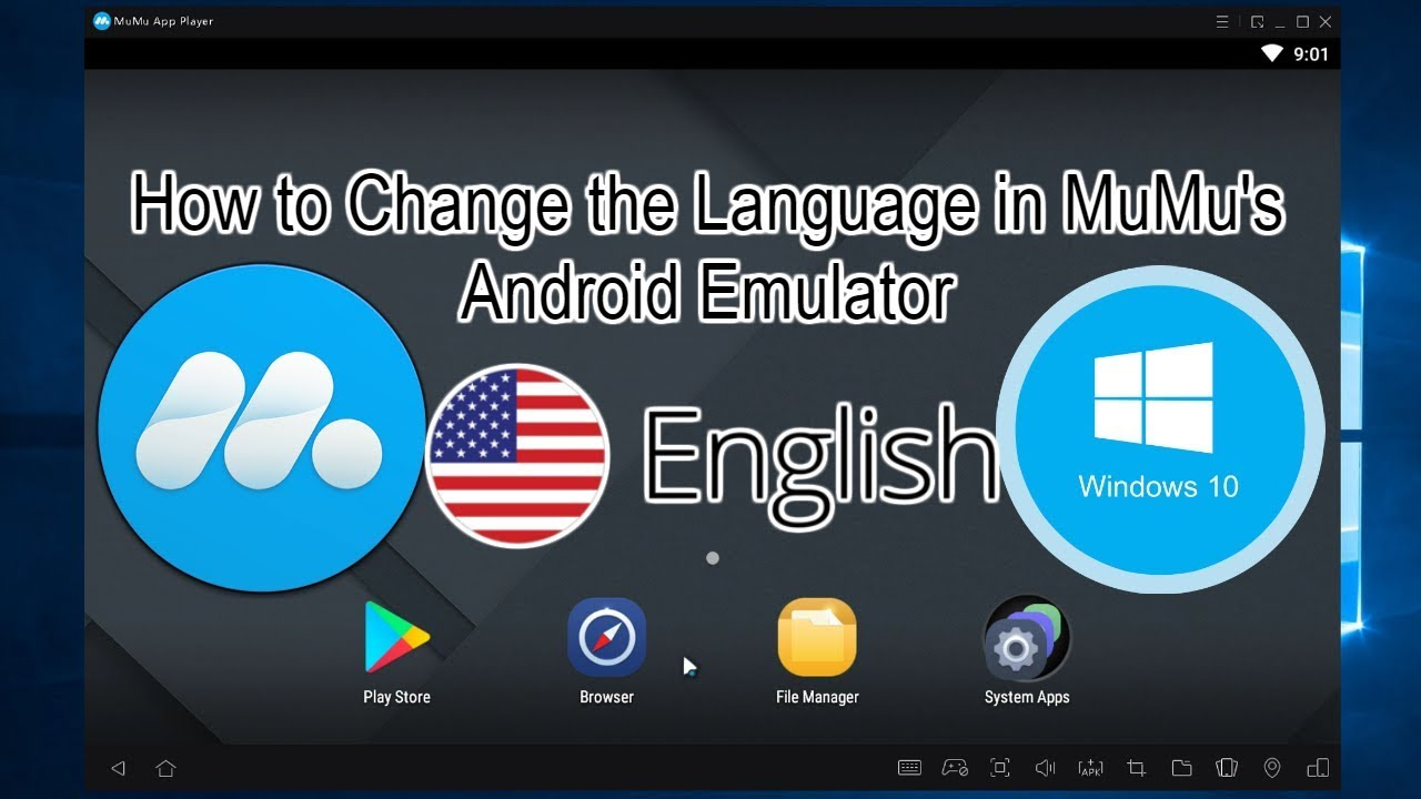 MuMu App Player Android Emulator - How to Change the Language to English  Tutorial 2019