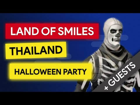 Thailand Livestream with Mem and Simon and Guests Including You.Halloween Special