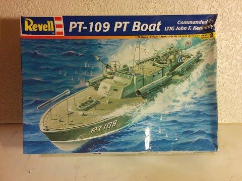 PT-109 Model Kit Review Revell 1/72 Scale