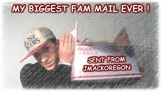 MY BIGGEST FAM MAIL EVER WITH GUEST JOHN REIN