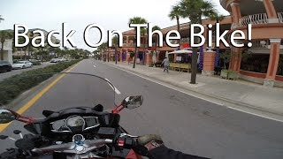 Back On The Bike To The Beach