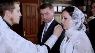 Венчание  в красивом соборе