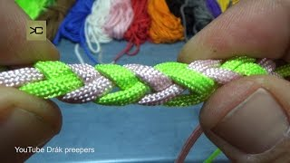 Trenzado con dos cuerdas