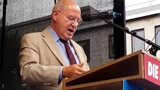 Bochum 16.8.2017 - Dr. Gregor Gysi zum Wahlkampfauftakt der LINKEN mit phantastischer Rede thumbnail