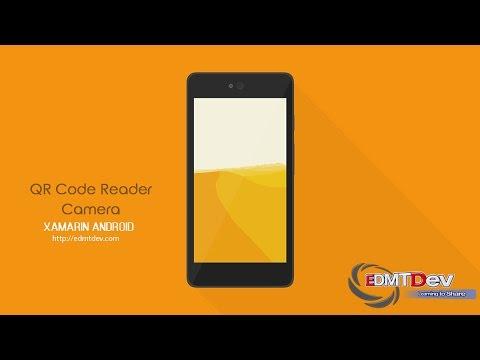 Xamarin Android Tutorial - Scan QR Code by Camera using Google Vision