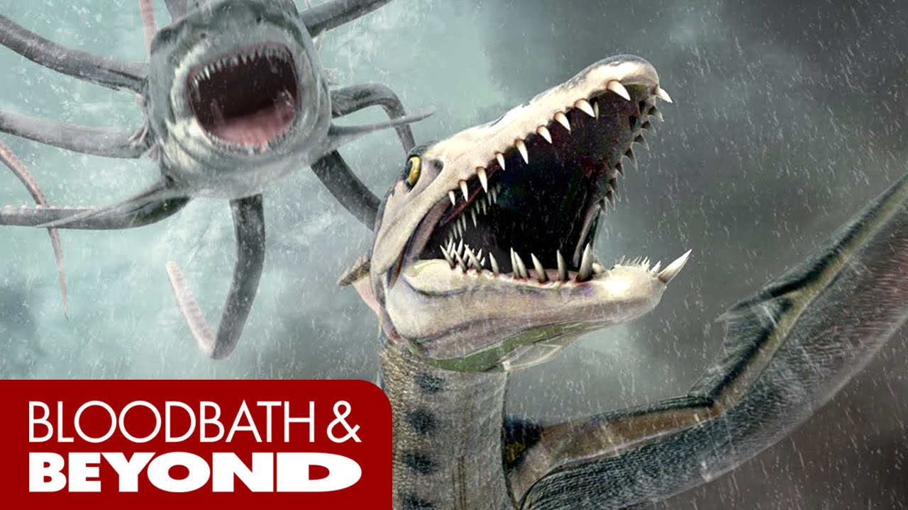 Sharktopus Vs Pteracuda 2014 Movie Review Youtube